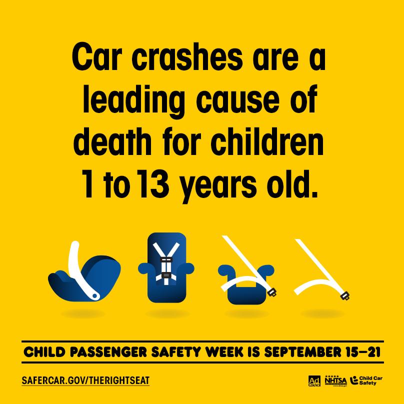 Safe Car Gov >> Child Passenger Safety Week Are Your Kids Safe