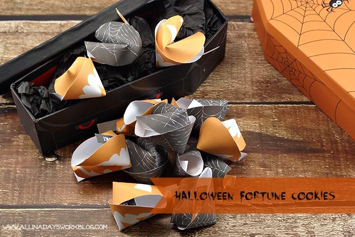 halloween fortune cookie