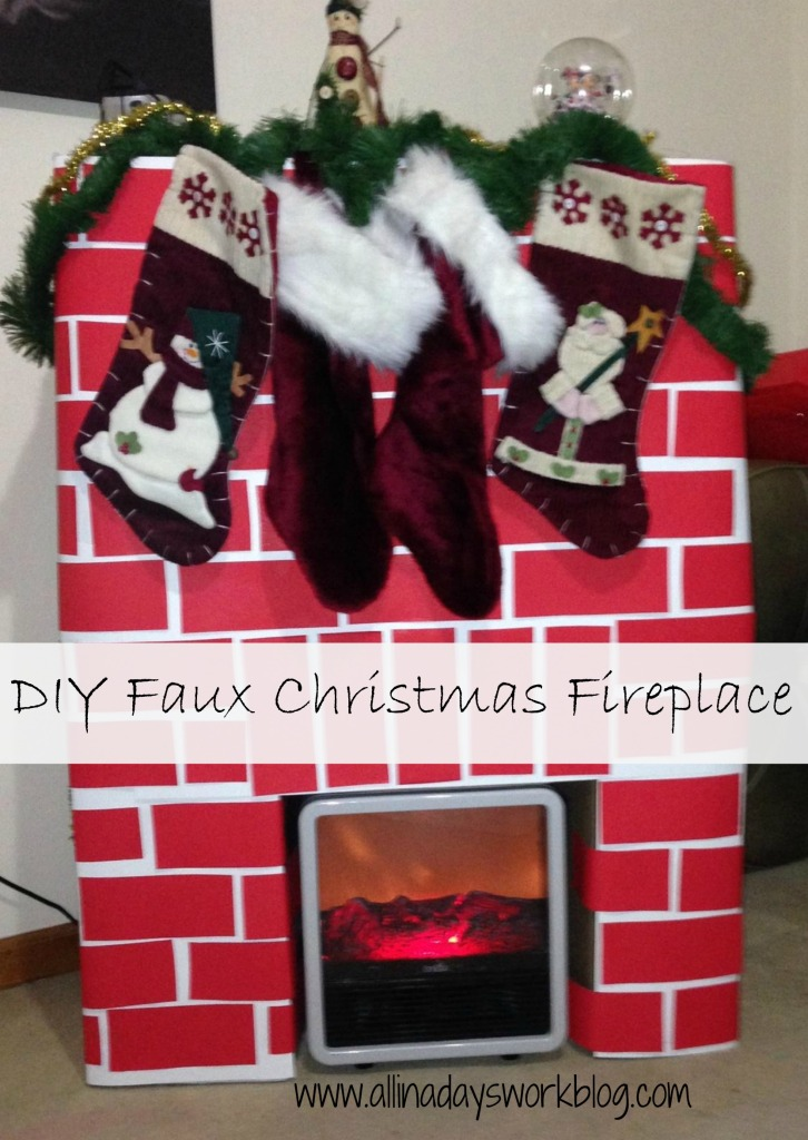 DIY_Faux_Christmas_fireplace