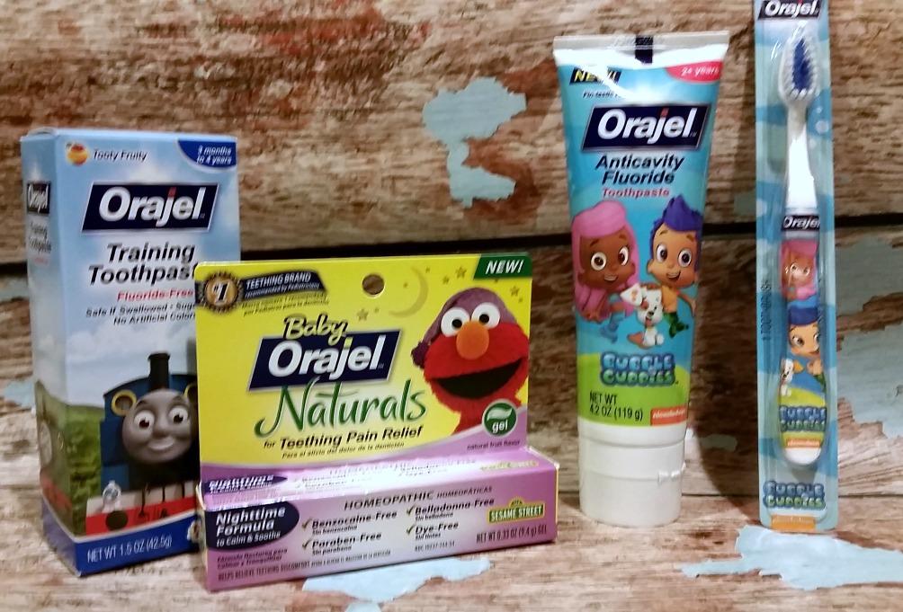 Celebrate Your Smilestones With Orajel Kids