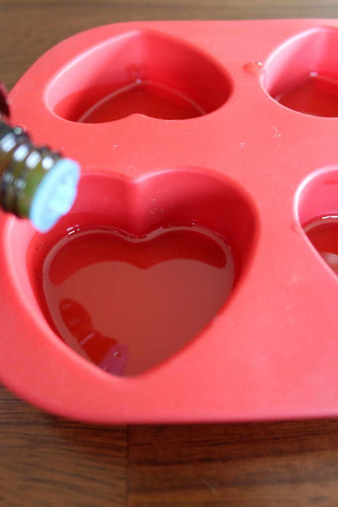 DIY Heart Shaped Massage Bars Lavender Essential Oil