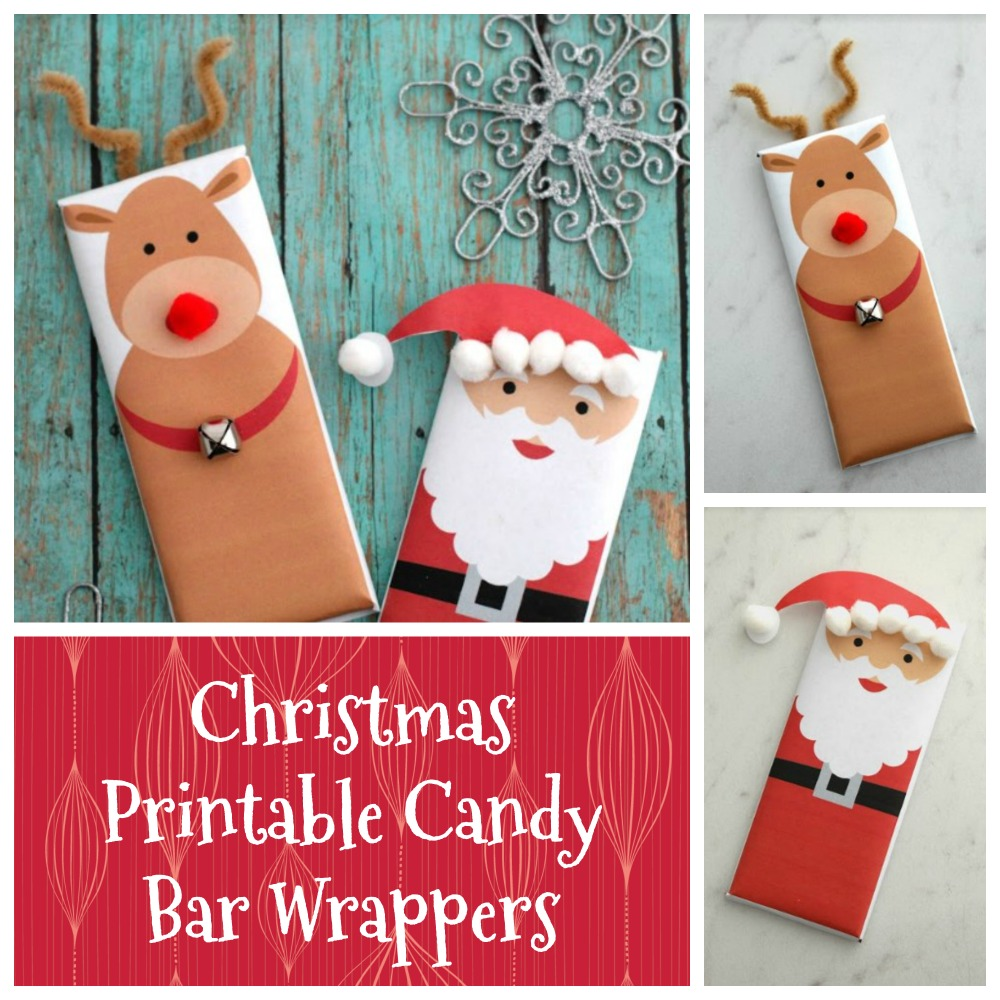 Christmas Printable Candy Bar Wrappers All In A Days Workall In A Days Work
