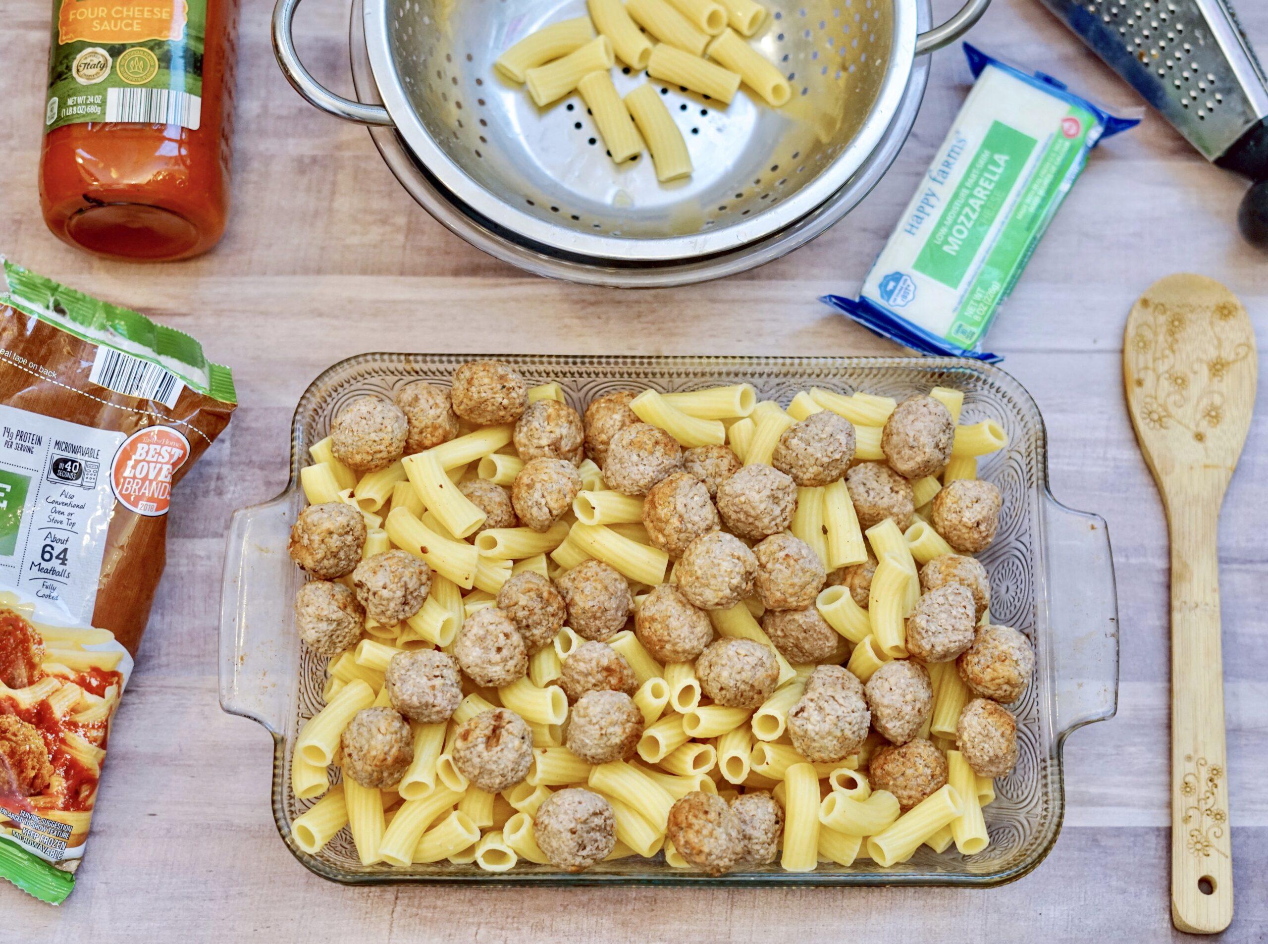 Aldi Quick & Easy Meatball Casserole
